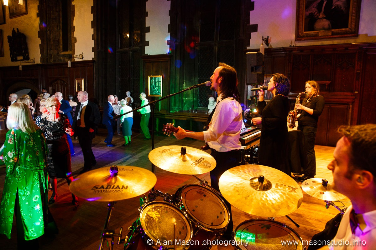 Knight Muse Party Band at DurhamCastle